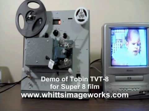 Tobin Telecine TVT-8 (Super 8 Version)