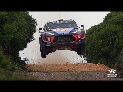 Rally Italia Sardegna Shakedown - Hyundai Motorsport 2018