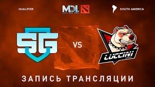 SG-eSports vs Luccini, MDL SA, game 1 [Mila]