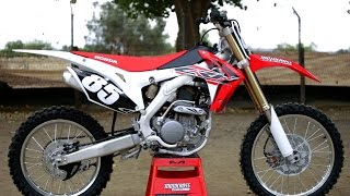 1. First Ride 2017 Honda CRF250 - Motocross Action Magazine
