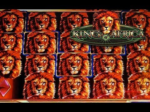 WMS - King of Africa Slot Bonus Feature 400x win - Harrah's Casino and Racetrack - Chester, PA
