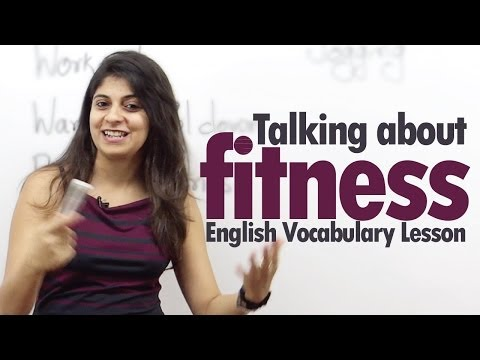 Talking about Fitness in English – Free Basic English Lesson