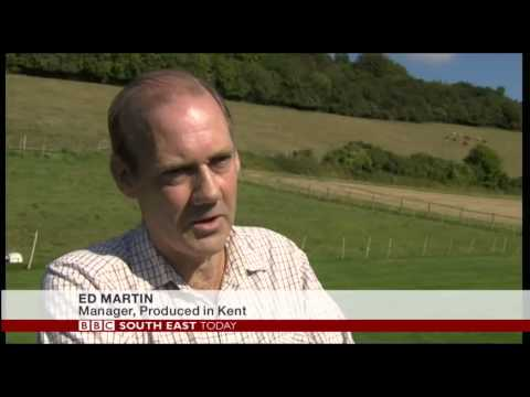 BBC TV features us about planned eco food hub for local producers