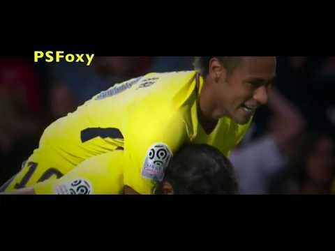 Neymar Debut: PSG vs Guingamp (13/08/2017), Skills, Assist and Goal