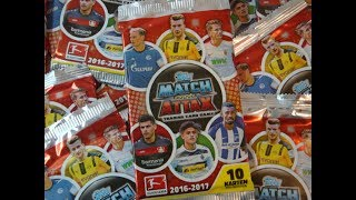 Match Attax 2016/17 Booster Unboxing