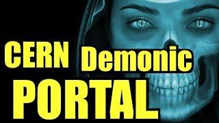 CERN Demonic Portal Alpha-2 CERN Portal Video CERN Portal Demons caught on Camera Antimatter