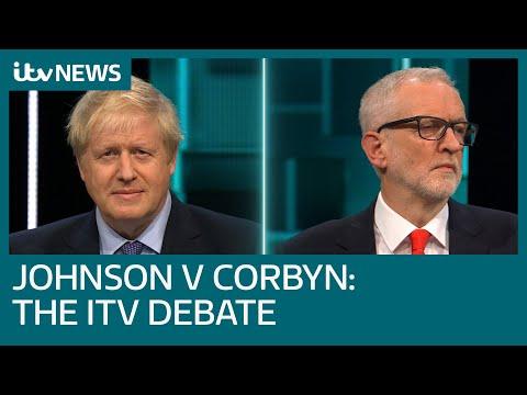 LIVE: Johnson vs. Corbyn: The TV Debate