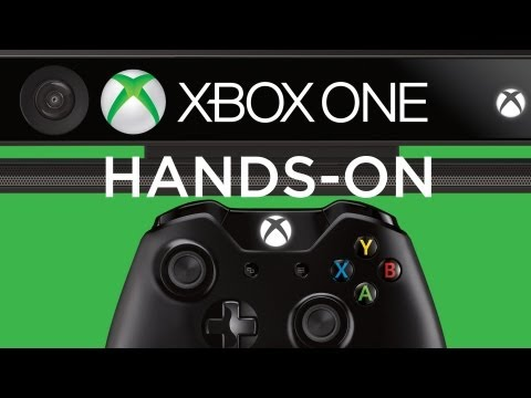 hands on - Adam Sessler just got to go hands-on with the Xbox One's all new Kinect and controller. What does he think of the improved camera, redesigned controller, and...