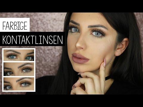 Die BESTEN farbigen Kontaktlinsen, natürlich, für braune Augen, im Test, Lenses Paradiise