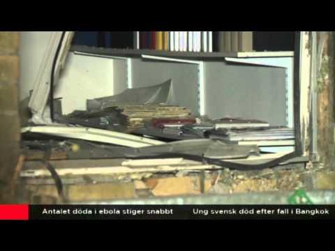 Suède : attentat à la voiture piégée