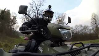 8. Suzuki King Quad-750  ( BEST ) �арезка 2018
