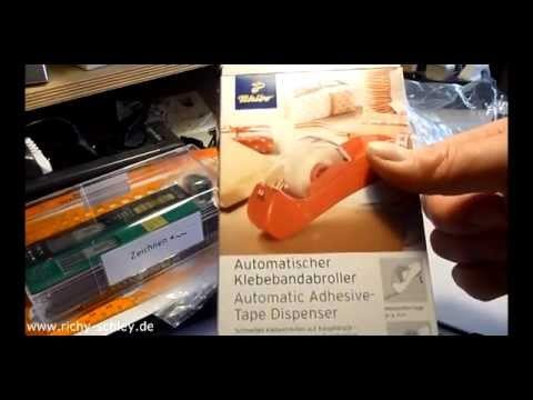 Tchibo Automatik Tesa Klebeband Abroller - Test unboxing