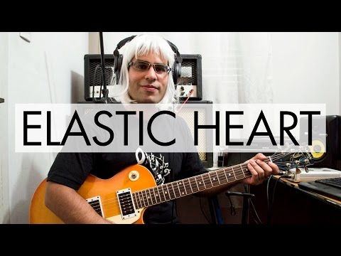Sia – Elastic Heart | electric guitar cover (instrumental)