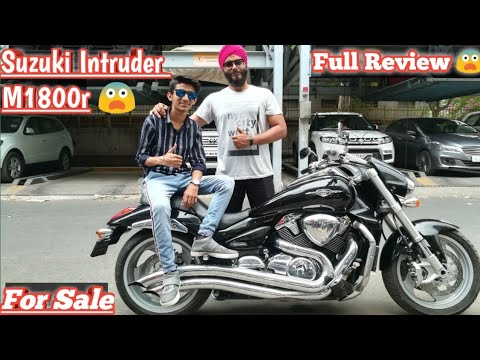 Suzuki Intruder M1800r 😨 || Full Review For sale || Saraswati Motors || Karolbagh