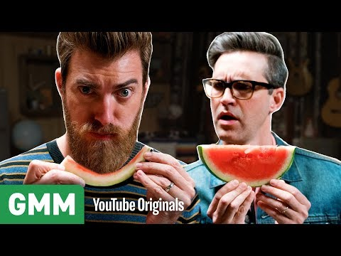 Speed Eating Watermelon