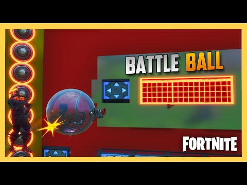 Fortnite Creative BATTLE BALL Minigame! Code Inside | Swiftor