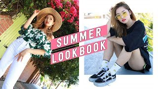 My favorite season is finally here! Summmmmer! I've styled five fun outfits for the heat. What other summer trends would you like me to style? ------------------------------------------💎 Subscribe and become a Jem today: http://bit.ly/2iLayjY 💎------------------------------------------➫  Instagram: http://instagram.com/imjennim➫ Twitter: http://twitter.com/imjennim➫ Facebook: http://facebook.com/imjennim➫ Spotify: http://bit.ly/2rctq05➫  Snapchat: http://snapchat.com/add/jennimsnaps------------------------------------------⓵ BENCHED OUT ⓵➥ Greek Mythology Tee: Style Nanda➥ Runner shorts: Style Nanda➥ Yellow sunnies: https://goo.gl/a5fgbo➥ Sneakers: Vans⓶ HAVANA NIGHTS ⓶➥ Top: http://bit.ly/2s6QyBJ➥ Skirt: Nasty Gal➥ Purse: http://bit.ly/2oUbarm➥ Hat: Lack of Color➥ Heels: Revolve➥ Earrings: http://bit.ly/2s6MzoZ⓷ SUNNY SIDE UP ⓷➥ Yellow mesh top: Dolls Kill➥ Pleather bra: Unif➥ Cut offs: Agolde➥ Belt: Thrifted➥ Boots: Public Desire⓸ CHECK POINT ⓸➥ Top: http://bit.ly/2taKmZ6➥ Skirt: 7 For All Mankind➥ Belt: Japan➥ Mules: Jeffrey Campbell➥ Watch: Daniel Wellington⓹ GREEN GABLES ⓹➥ Floral top: http://bit.ly/2tbCmb5➥ Straw boater: Lack of Color➥ White denim: http://bit.ly/2tLiIjc➥ Earrings: INC➥ Mules: Jeffrey Campbell------------------------------------------➫ Graphics by Dawn Lee: http://bit.ly/2a0wWpA➫ Video edited by Jenn Im------------------------------------------❐ MUSIC ❏➫ Flamingosis: http://bit.ly/2s7umaV------------------------------------------FTC: This video is NOT sponsored.