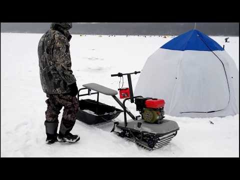 лучший снегоход для рыбака