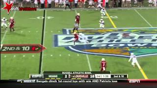Teddy Bridgewater vs Miami (2013)