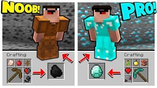 HOW TO GO FROM NOOB TO MINECRAFT PRO IN SECONDS!