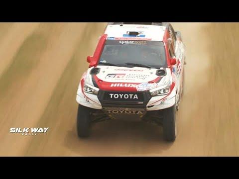 Silk Way Rally: Σοβαρό ατύχημα για την Αναστάσια Νιφόντοβα