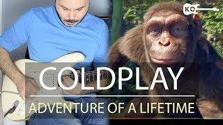 Coldplay - Adventure Of A Lifetime - Electric Guitar by Kfir Ochaion