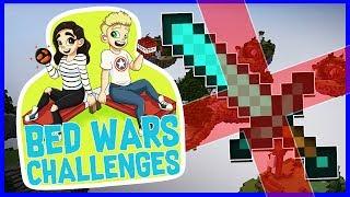 *NEW SERIES* NO SWORD CHALLENGE!?   Bedwars Challenges #1   With NettyPlays