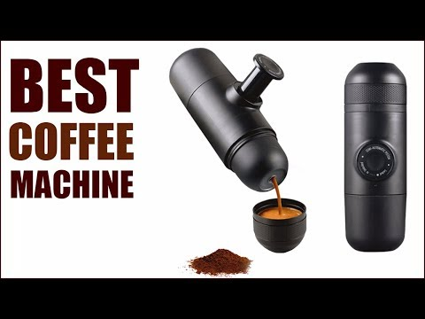 Best Coffee Machine – Portable Hand Espresso Mini Coffee Maker for Outdoor Travel