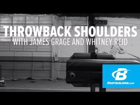 Throwback Shoulder Workout with James Grage and Whitney Reid – Bodybuilding.com