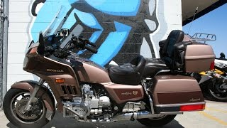8. 1986 Honda Goldwing 1200 Aspencade GL1200A motorcycle for sale
