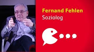 Presentaioun vum Soziolog Fernand Fehlen op der Konferenz