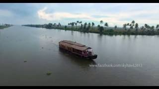 Kumarakom India  city pictures gallery : Aerial Photography and Videography in 4K of Kumarakom in Kerala, India