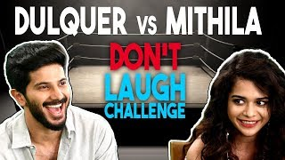 Video Don't Laugh Challenge | Dulquer Salmaan VS Mithila Palkar MP3, 3GP, MP4, WEBM, AVI, FLV Oktober 2018