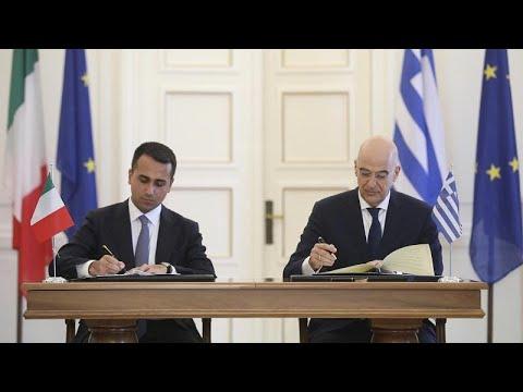 Μητσοτάκης για ΑΟΖ: Μια καλή ημέρα για Ελλάδα, Ιταλία και Ευρώπη…
