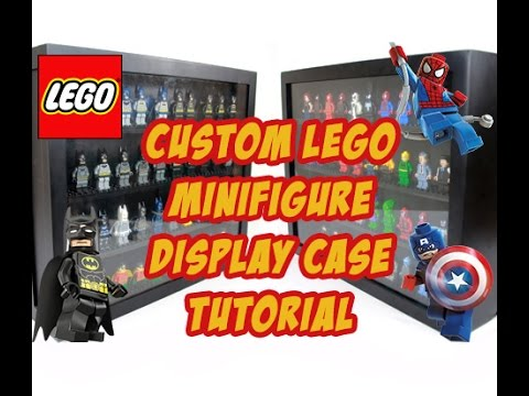 How to make a Lego Minifigure display case (part 2 of 2) | Bajool.com