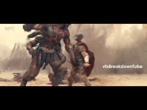 VFX Showreel - Wrath of The Titans Vfx Technical Breakdown by MPC (HD)