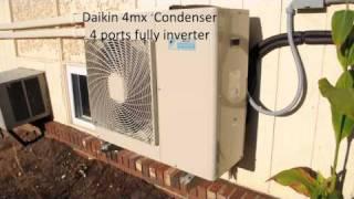 Video Daikin Multi zone Ductless split Air conditioning installation MP3, 3GP, MP4, WEBM, AVI, FLV Agustus 2018