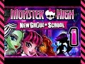 Monster High: New Ghoul In School Walkthrough Part 1 ps