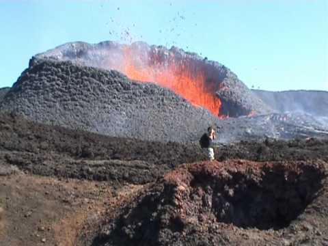 volcan Piton de la Fournaise.mpg