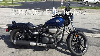 1. 2016 Yamaha Star Bolt Motorcycle Review