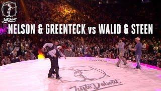 Nelson & Greenteck vs Walid & Mr. Steen – Juste Debout 2018 Popping Semi Final