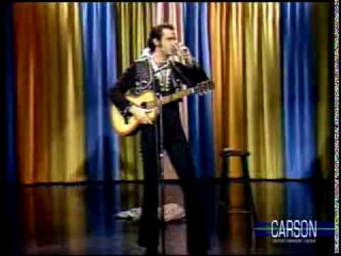"Andy Kaufman Doing ""The Elvis Presley"""