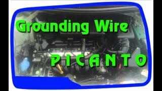 Cara memasang kabel Grounding Ground Wire pada Kia Picanto