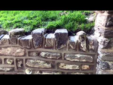How to Repair and point a Stone wall  | Concrete and Cement Work