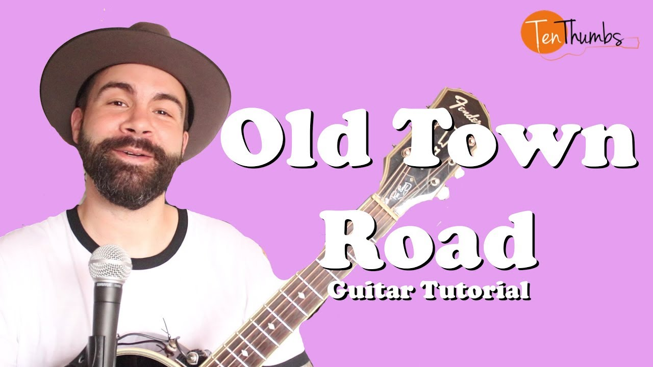 Old Town Road – Lil' Nas X – Super Easy Beginner Guitar Tutorial