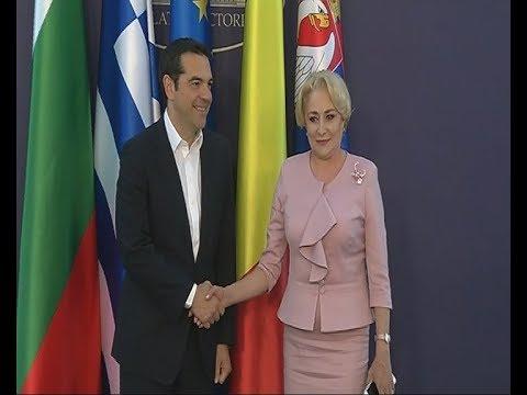 Στο Βουκουρέστι ο Αλ. Τσίπρας για την τετραμερή Ελλάδας-Βουλγαρίας-Ρουμανίας-Σερβίας