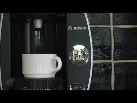 Bosch TAS4011GB Tassimo Coffee Maker In Action