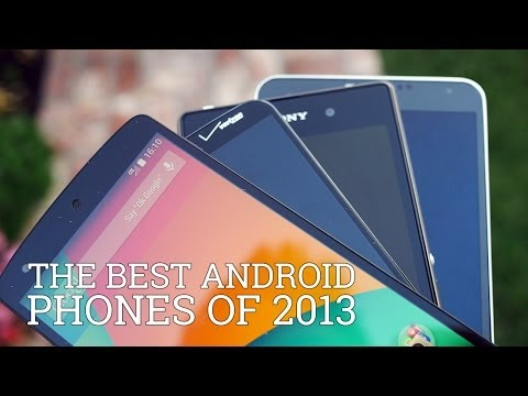 Best - In a look back on 2013, we list off the best Android smartphones of the year based on different kinds of users. Everyone from gamers to photographers are cov...