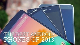 The Best Android Phones of 2013! - YouTube