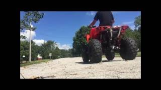 6. Can am renegade 1000r wheelies and speed test!